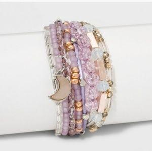 Jewelry - 3-for-$30! Moon Multi-Strand Layering Bracelet